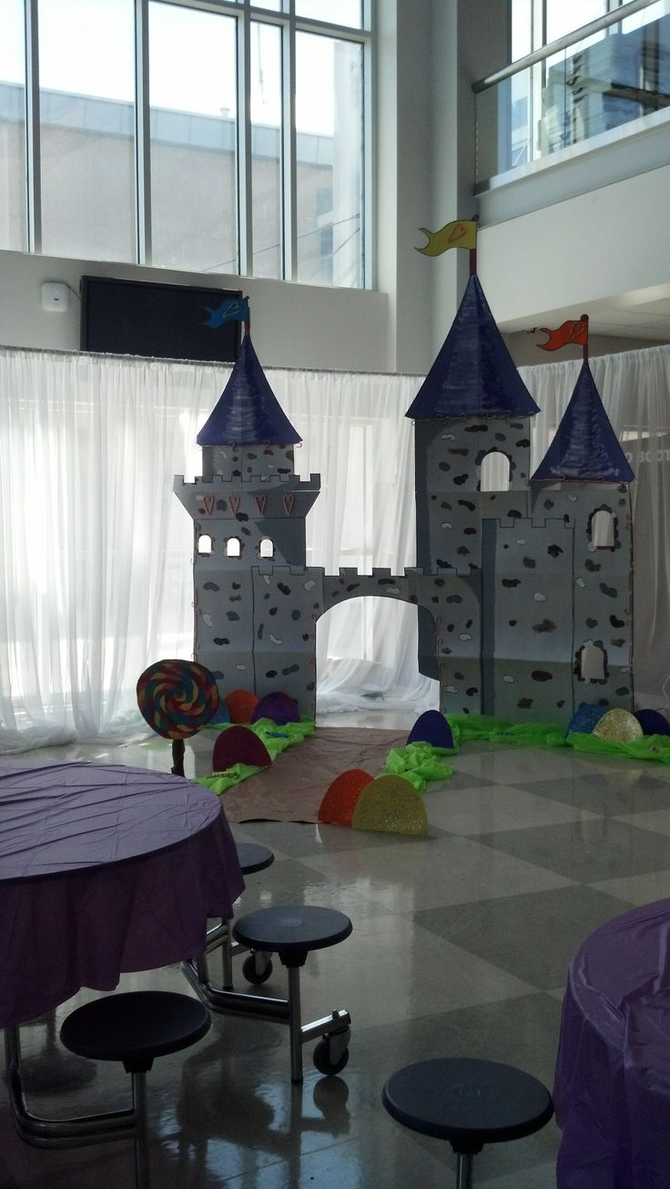 Any Ideas For Castle Theme  Reception Observation