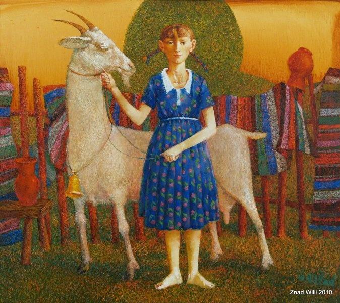 Artodyssey: Aleksandr Poklad -#goatvet likes this even if the goat is not anatomically correct