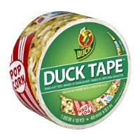 Duck Brand Movie Night Printed Duct Tape - Just $2.47! - http://www.pinchingyourpennies.com/duck-brand-movie-night-printed-duct-tape-just-2-47/ #Amazon, #Ducktape, #Pinchingyourpennies