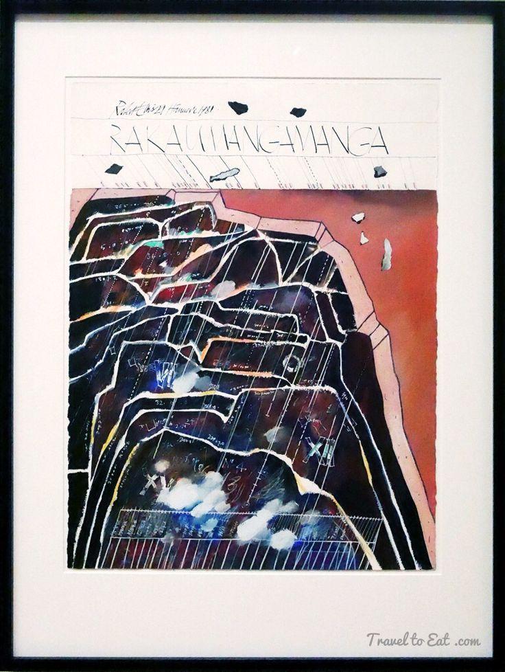 Rakaumangamanga Hāneure by Robert Ellis, 1981. Auckland Art Gallery, New Zealand