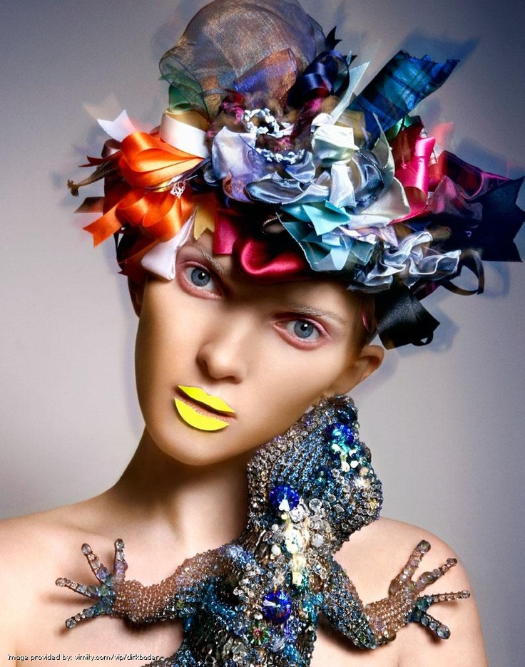 Eccentric and colourful images from Dirk Bader #fashion #vimity http://www.vimity.com/vip/dirkbader/portfolio/fashion/