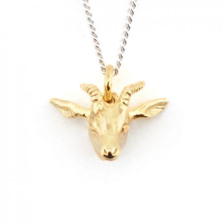 Antelope Pendant Gold