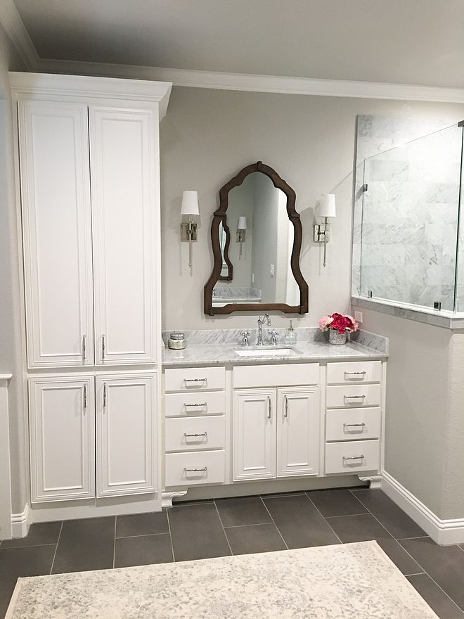 Grey Bathroom Paint Color Sherwin Williams Repose Gray Repose Gray Sherwin Williams Bathroom Paint Colors Bathroom Remodel Cost