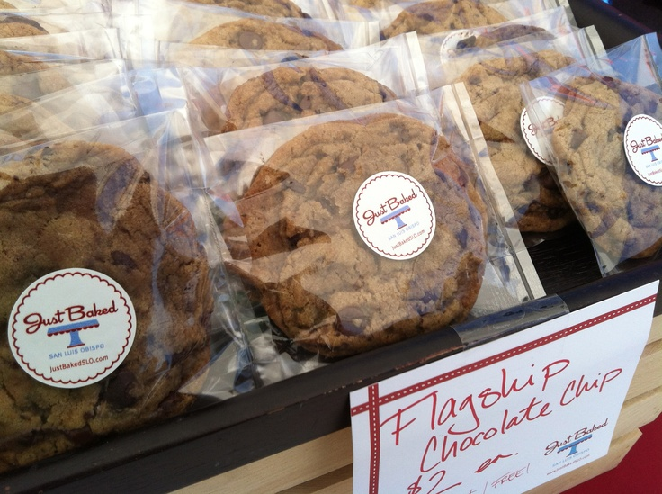 The cookie that started it all! The Flagship Chocolate Chip™ Cookie - justbakedslo.com