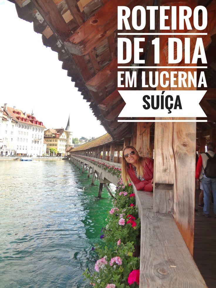 Se tem uma cidade que não pode ficar de fora da sua viagem para a Suíça, essa cidade é Lucerna. A cidade é uma gracinha, muito limpa e bem estruturada. As margens do Rio Reuss e com pouco mais de 80 mil habitantes, Lucerna é conhecida como uma das mais belas cidades suíças. Confira o nosso roteiro de 1 dia em Lucerna e descubra um pouco mais sobre essa importante cidade suíça.