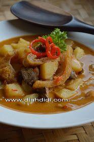 Diah Didi's Kitchen: Inspirasi Menu Buka Puasa Hari ke 30...Sambel Goreng Kentang Krecek dan Kering Tempe Kentang ..( Semarang Lagi...hihi )