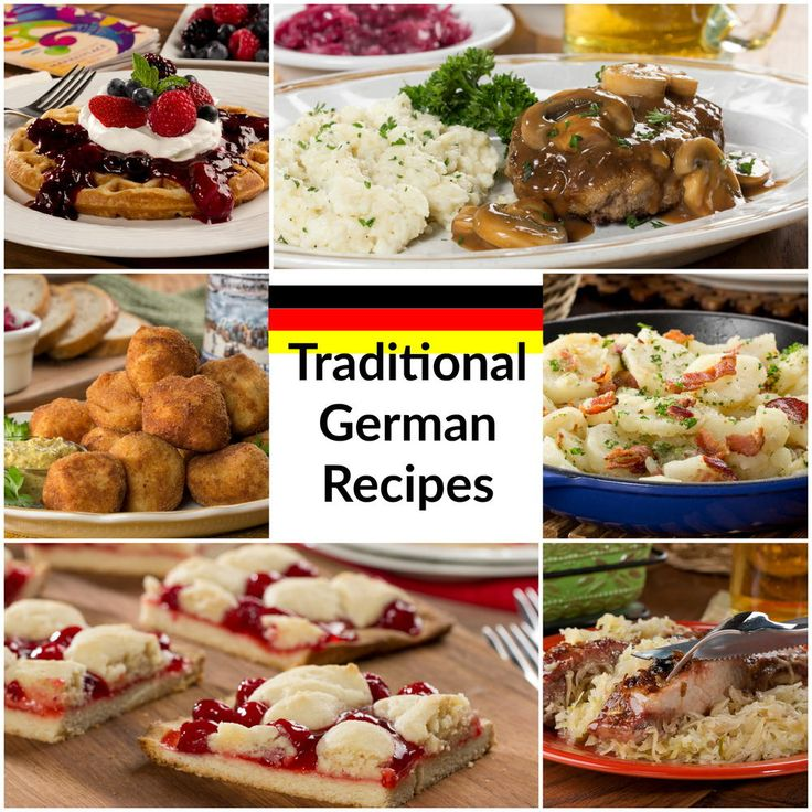 21 Traditional German Recipes You Can't Miss