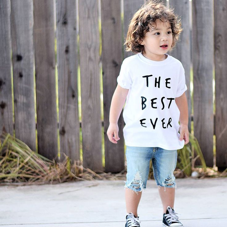 The Best Ever T-Shirt | Who wouldn't want to be the Best Ever? We know, and your kids know, who the best ever is, which is why we've designed this bold, statement tee for them. It's another unisex classic, in black, white, grey or navy 100% pure super-soft cotton, with a big handprinted Kidult and Co slogan on the front to let everyone know just who the Best Ever really is | www.kidultand.co