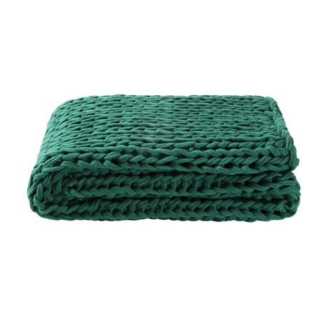 17 best images about real living for freedom aw15 on - Emerald green throw blanket ...