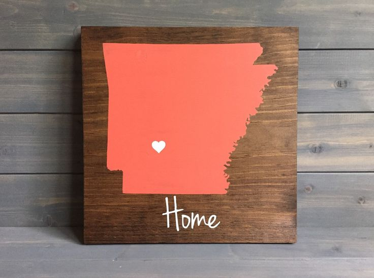 Pick Colors, Arkansas Wood Sign, Arkansas State Sign, Stained Hand Painted, Personalize, Arkansas decor, Arkansas art, Arkansas sign by RusticStrokes on Etsy https://www.etsy.com/listing/198996901/pick-colors-arkansas-wood-sign-arkansas