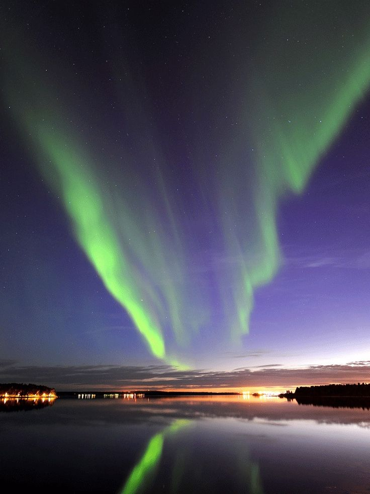 Norrsken (The Northern Light) something you can see in the North of Sweden