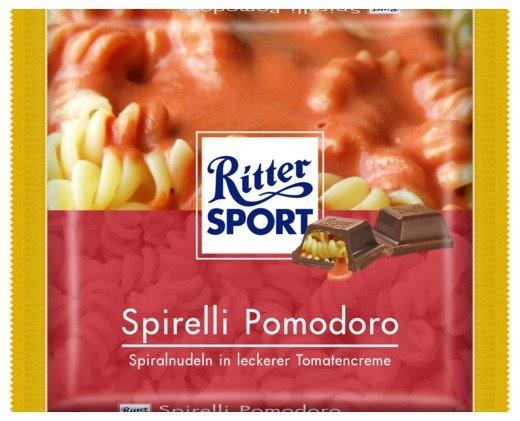 Spirelli Pomodoro. Spiralnudeln in leckerer Tomatencreme