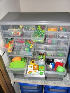 Ways to organize tools for lunches