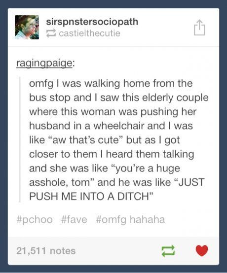 Old people are awesome.