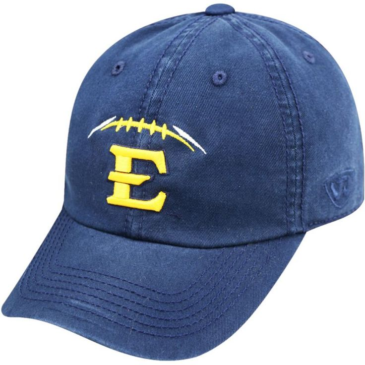 Top of the World Men's East Tennessee State Navy Football Crew Adjustable Hat, Team