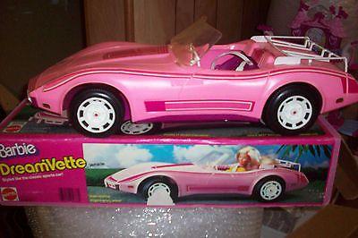 Vintage BARBIE DREAMVETTE CORVETTE 80's Mattel Original Box