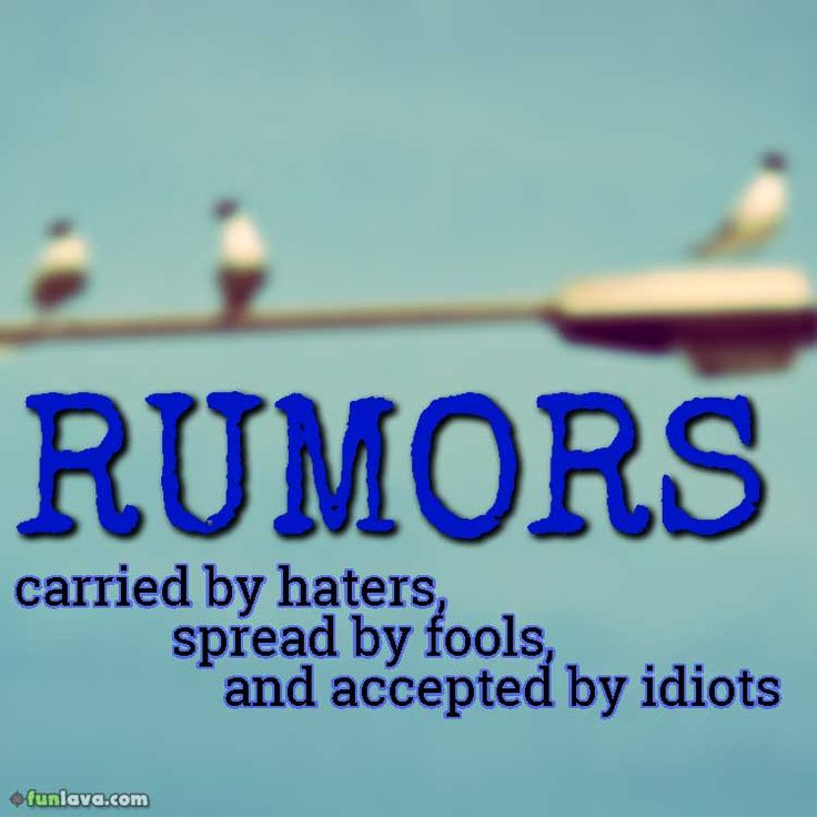 quote-rumors-carried-by-haters -  Exciting Quotes About How To Deal With Rumors