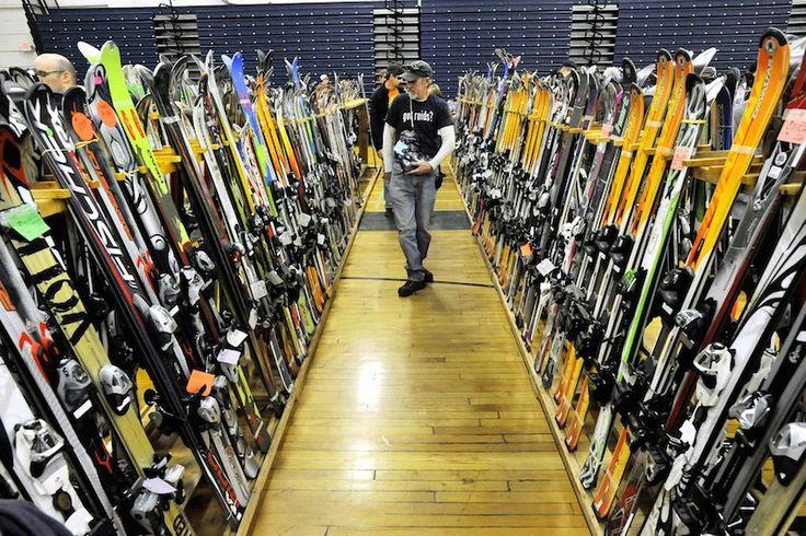 Whatever your skiing experience or budget, local ski sales and swaps are a chance to sell your used gear and/or buy some new-to-you skis, poles, helmets and whatever else you might need for a price that won't totally wreck you.