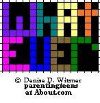 Beaded Safety Pin Patterns Teen Sayings: Teen Saying: Whatever Pattern