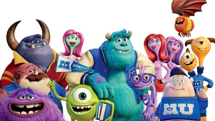 Movie Monsters University  Squishy (Monsters University) Terri & Terry (Monsters University) Don (Monsters University) James P. Sullivan Mike Wazowski Art (Monsters University) Wallpaper