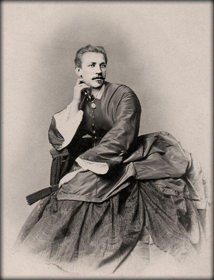 Victorian era cross-dressing