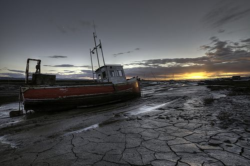 """""""Sunset at Sheldrakes Lower Heswall North West England"""""""