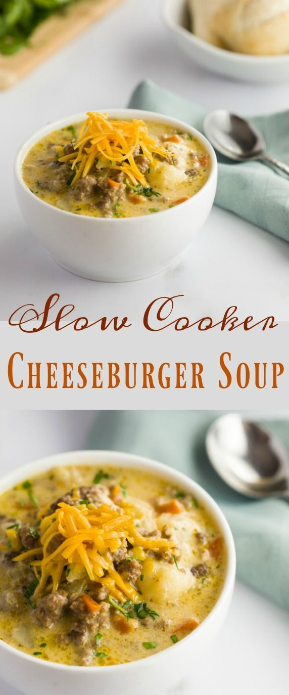 Tender ground beef and vegetables in a thick and creamy cheesy soup, the definition of comfort in a bowl and perfect for cold weather.