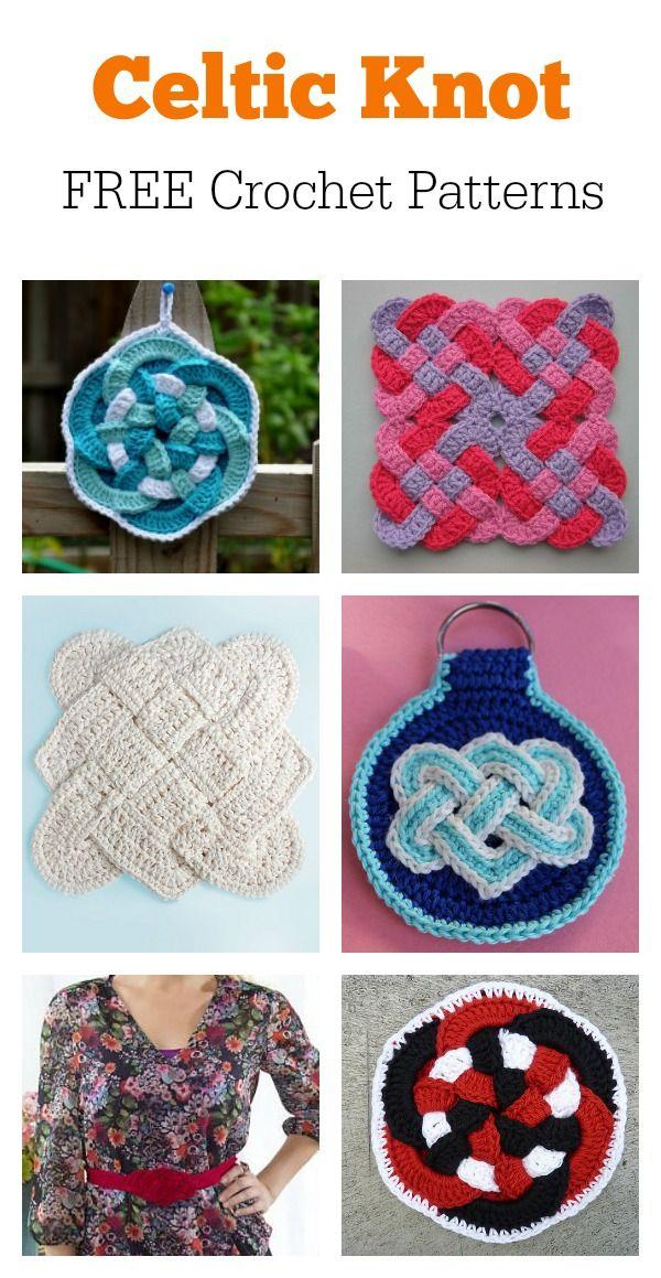 Beautiful Celtic Knot Free Crochet Patterns Crochet Pinterest