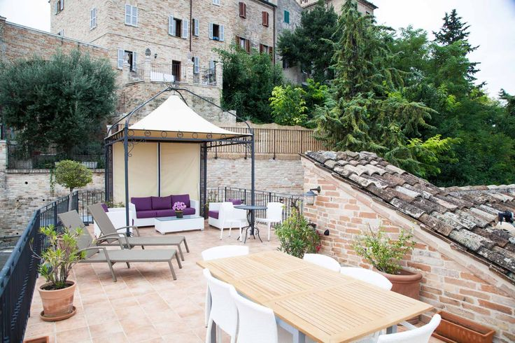 Casa Tre Archi- Roof Terrace. A great place to sit and catch up with family and friends.