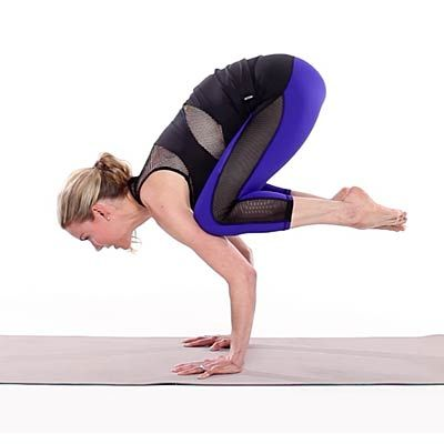 you can totally master this tough yoga pose  crow pose