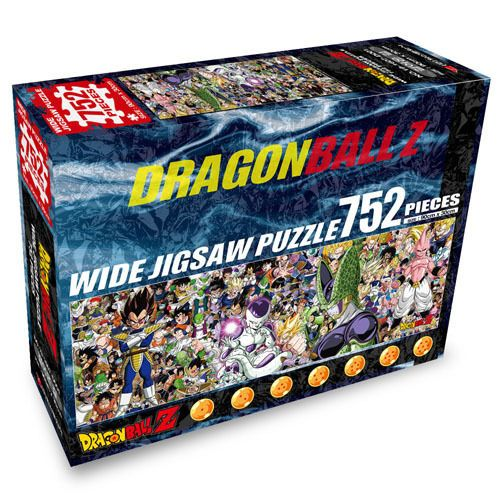 Dragon Ball Z 725 pieces Wide Jigsaw Puzzles+Poster+Coating gel #DragonBall
