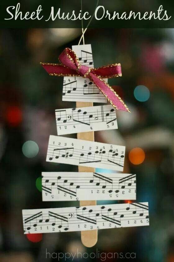 Music ornaments