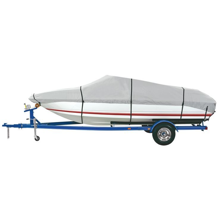 """Dallas Manufacturing Co. Heavy Duty Polyester Boat Cover B - 14-16' V-Hull, Runabouts, Aluminum Bass Boats - Beam to 90"""" - https://www.boatpartsforless.com/shop/dallas-manufacturing-co-heavy-duty-polyester-boat-cover-b-14-16-v-hull-runabouts-aluminum-bass-boats-beam-to-90/"""