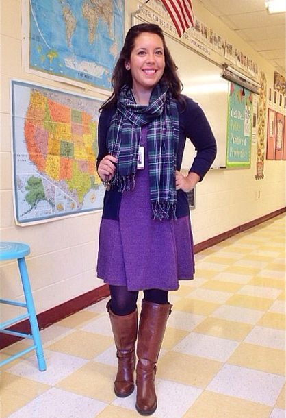 Crafty Teacher Lady 10 Outfit Style Ideas For Teachers Fashion In 2018 Pinterest Outfits And