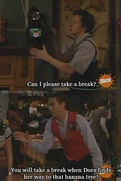 "He supports others, even when no one else does. | 13 Signs You Are Actually Crazy Steve From ""Drake And Josh"""