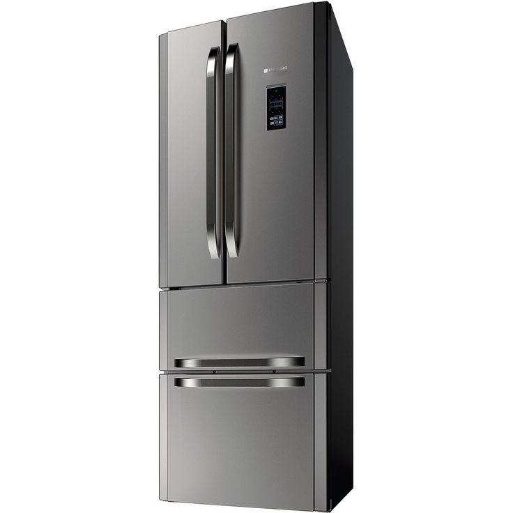 Hotpoint Ffu4dg X Mtz Fridge Freezer Stainless Steel