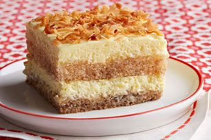 Creamy Coconut Tiramisu Recipe - Kraft Recipes