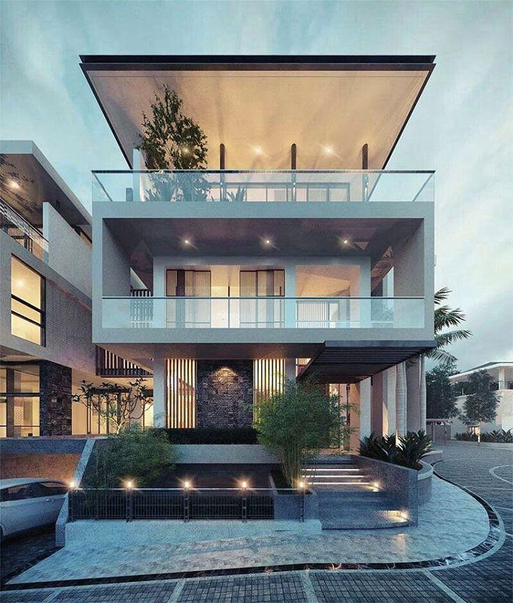 """2,041 Likes, 8 Comments - FGCC ARCHITECTURE GROUP (@fabulous.architecture) on Instagram: """"Via : Kientruc Contemporary Modern Villa"""""""