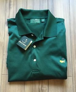 Men's MASTERS Amen Corner Golf Shirt Green NWT XL ���� | eBay
