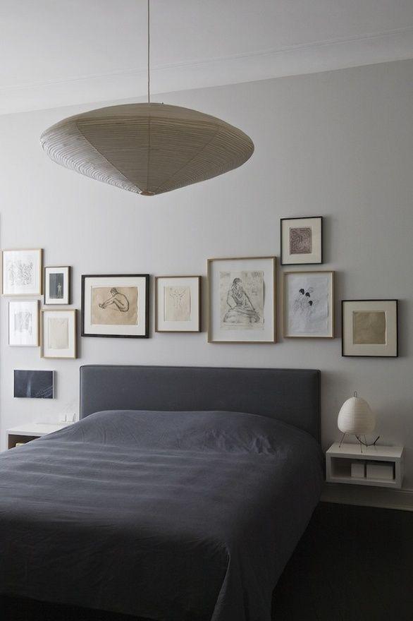 : Serenity Bedrooms, Bedrooms Pictures, Galleries Wall, Bedrooms Frames, Bedrooms Art, Pictures Frames, Frames Art, Design Blog, Art Wall