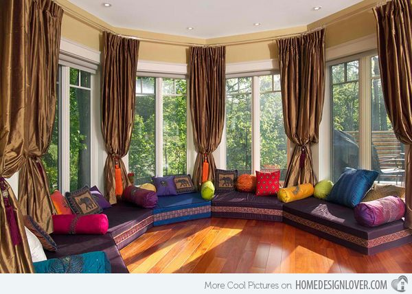 Outstanding Purple Living Room