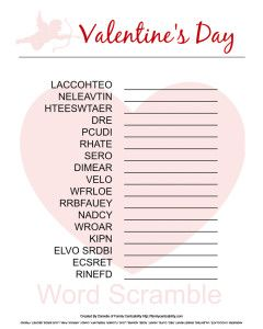 7e8fccc619c73eb6557a0093b88945a5 valentine words valentine party - Looking for a fun Valentine's Day activity to spend quality time with your c...