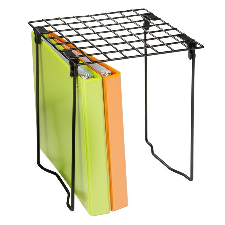 Features:  -Adds an extra level of organization, stack 2 and double your shelf space.  -Quick fold down design, quick and easy set up in any locker.  -Sturdy design.  Product Type: -Miscellaneous Part