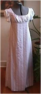 Regency Gown Pattern Instructions - one of the most detailed instructions I've ever seen!