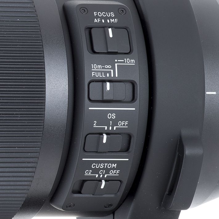 Camera lens, sliders