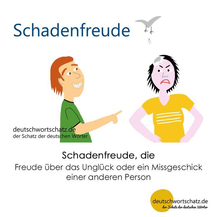Schadenfreude - Wortschatz mit Bildern lernen - Deutsch lernen