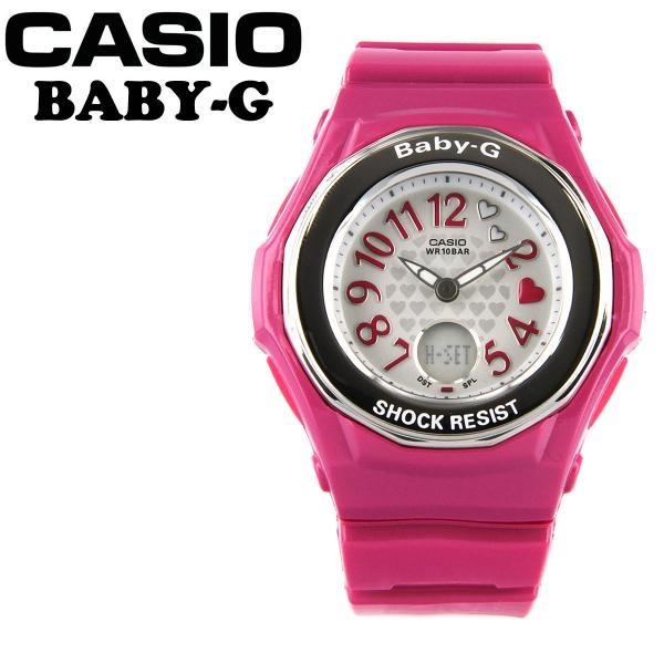 Casio Baby-G Analogue/Digital Ladies Watch - Pink