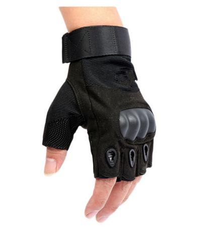 Finger-less Tactical Gloves