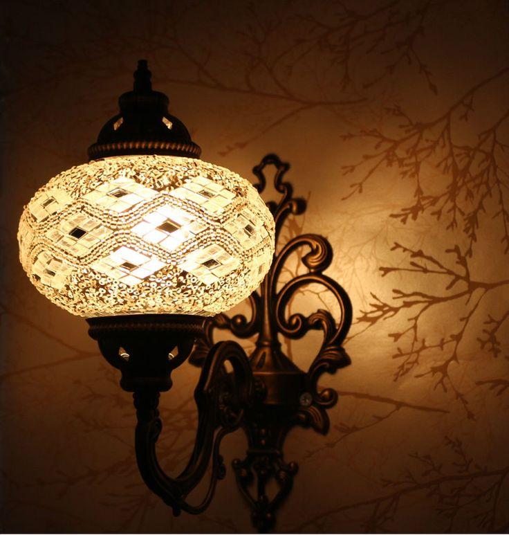 turkish style lighting. multicolour turkish moroccan style mosaic wall sconce light large gelobe lighting s