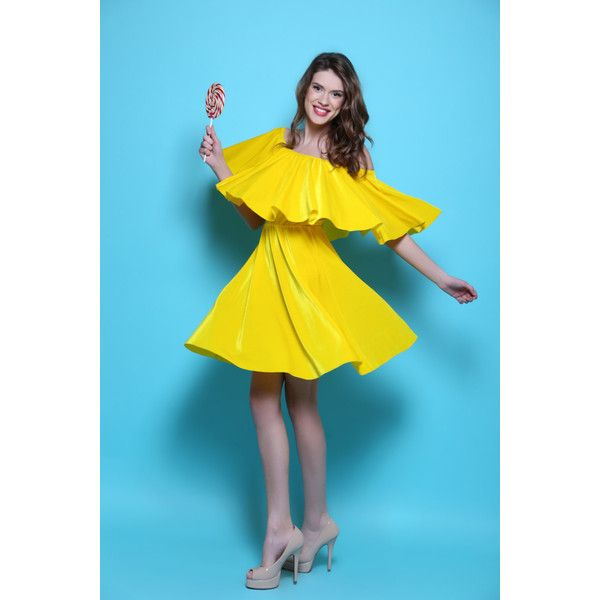 Velvet Yellow Dress ($90) ❤ liked on Polyvore featuring dresses, blue cocktail dresses, holiday cocktail dresses, blue velvet dress, yellow cocktail dress and cocktail party dress